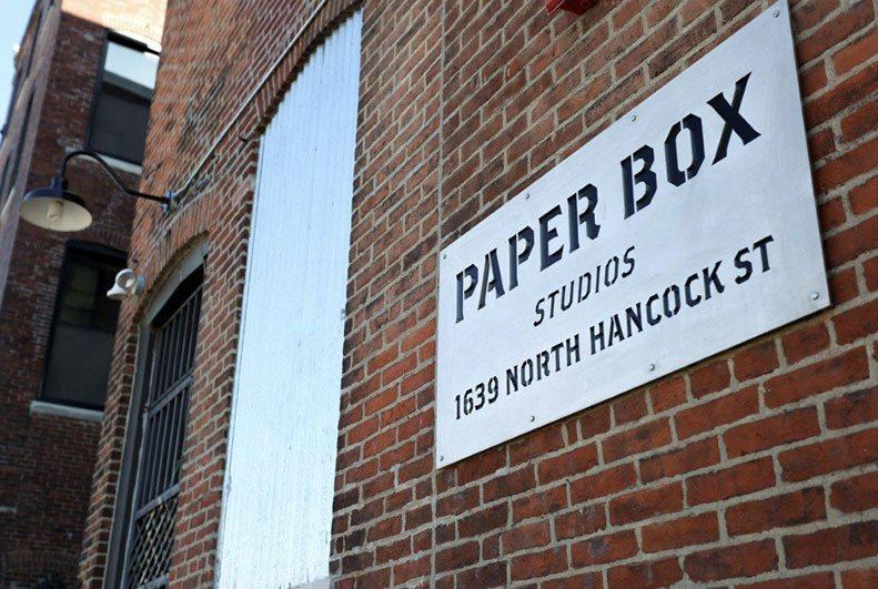 Paper Box Studios Custom Laser Cut Metal Sign