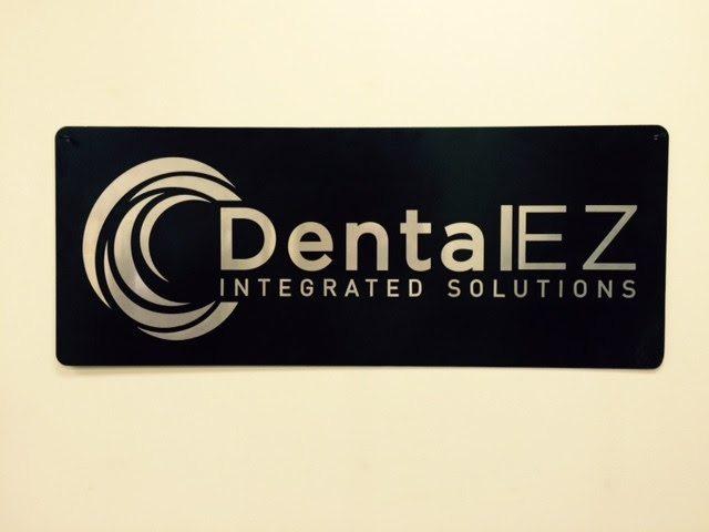 DentalEZ Integrated Solutions Metal Sign by GTM Artisan Metal