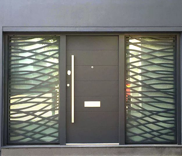 Decorative security screens. London - Private client