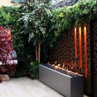 Courtyard garden - Harley design. Private client - London.