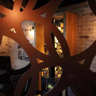 Soho Coffee Shop - Room dividers