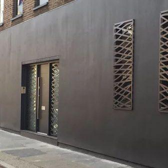 Decorative security screens. London - Private Client