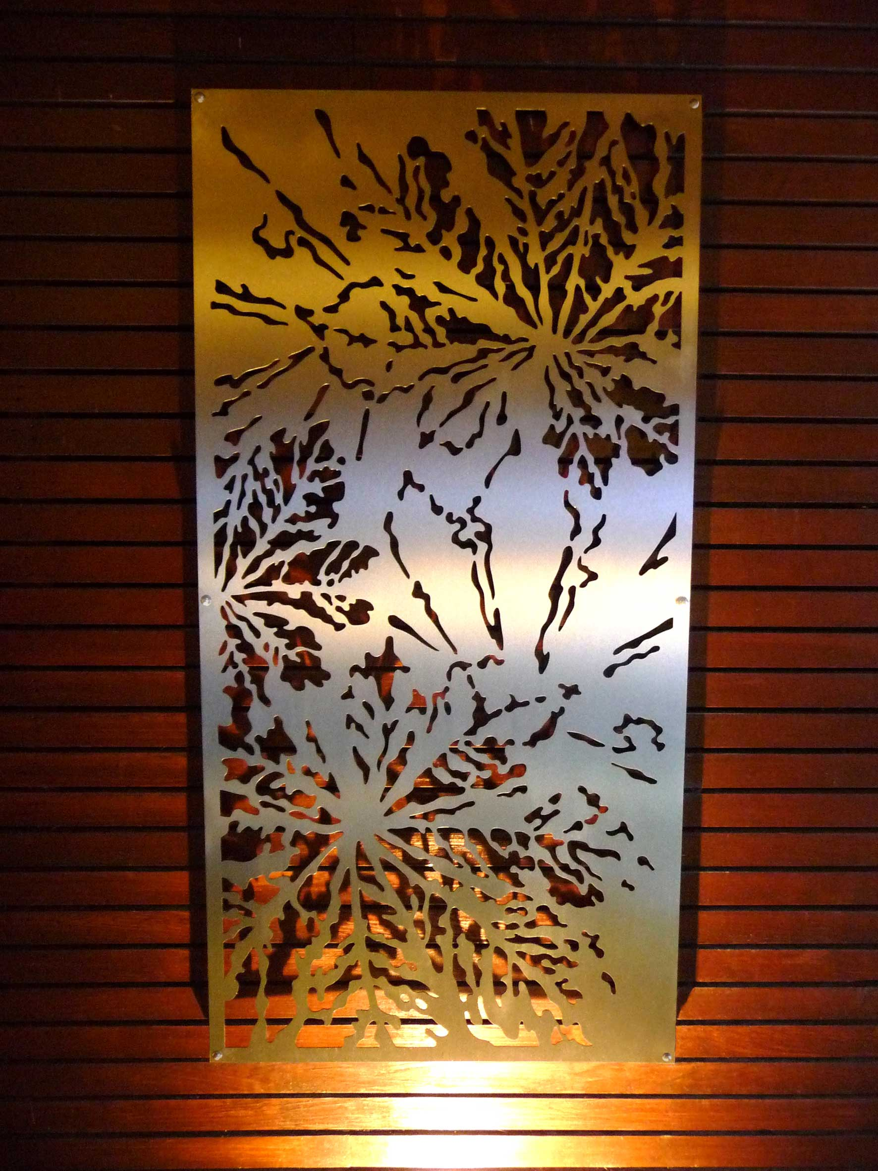 Laser cut panel gallery 5 germantown tool artisan metal for Design strandhotels