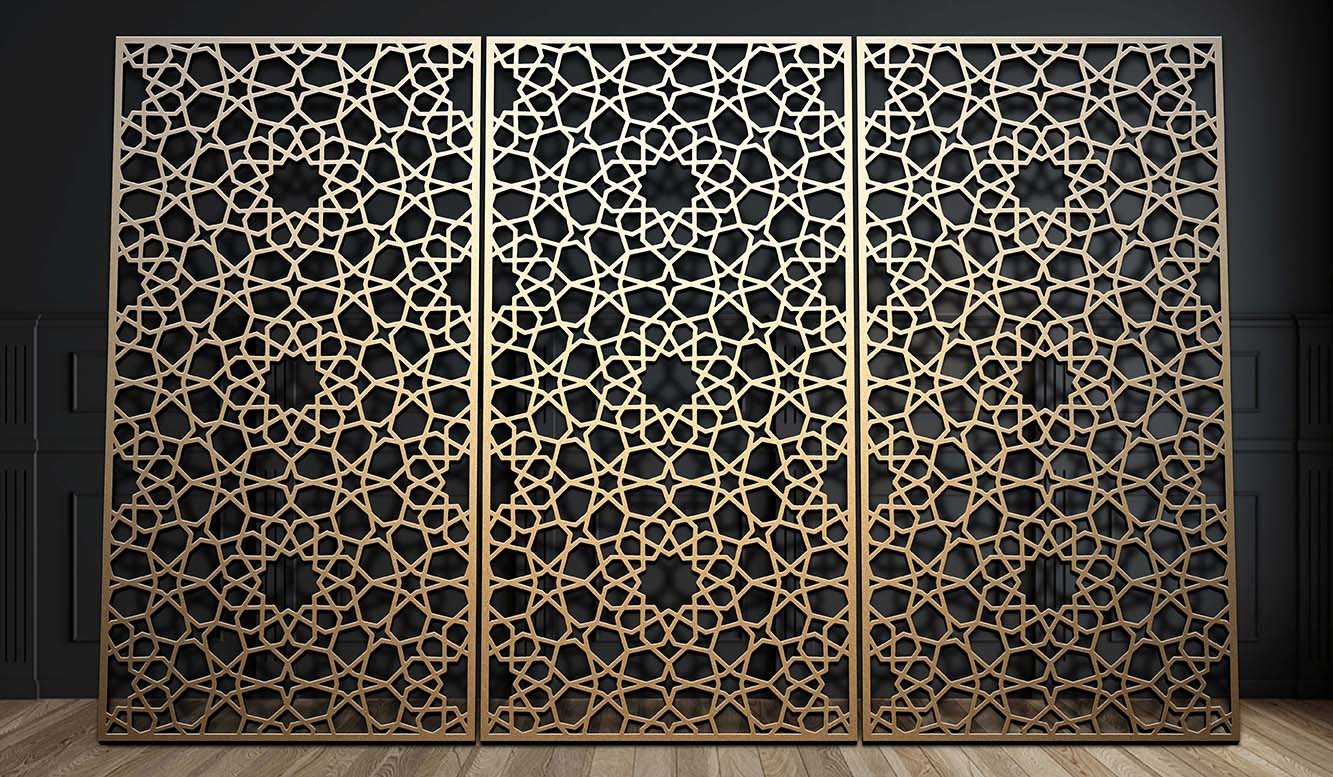Decorative metal wall panels and screens gtm artisan