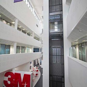 3M building - Foyer Elevator