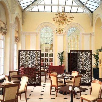 Blenheim Palace Orangery restaurant