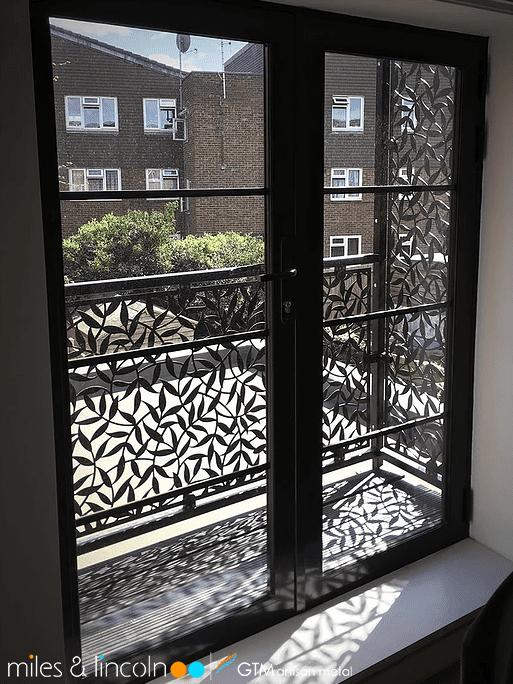 Balcony Design London: Stairway & Deck Railing Infill